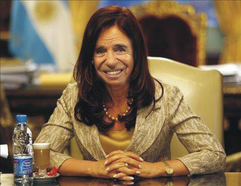 """Que le pasa a la Presidenta"".  Cristina-menem-126192"